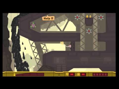 "PixelJunk Shooter 2 ""Safety First"" All Survivors & Treasure"