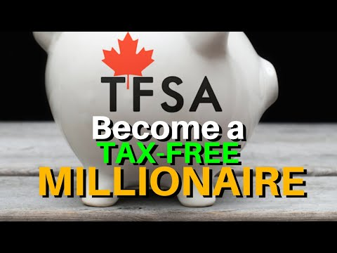 💰 Become A TAX-FREE MILLIONAIRE: Why You Need A TFSA In Canada