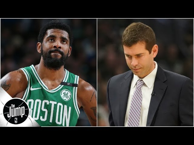 Kyrie Irving, Brad Stevens or straight-up everyone: Who's to blame for Celtics' collapse? | The Jump
