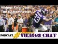 Minnesota Vikings Final Cuts - 53-Man Roster