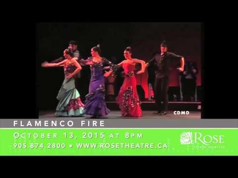 Flamenco Fire - Rose Theatre Brampton 15/16
