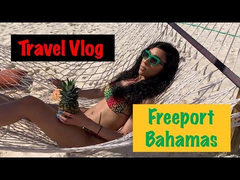 Travel Vlog | Cruise Freeport, Bahamas (Beach & Port tour)
