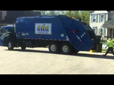 Aaa Trash Division Of Republic Ex Allied Waste Truck