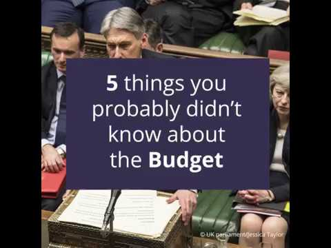 The Budget: 5 things you probably didn't know