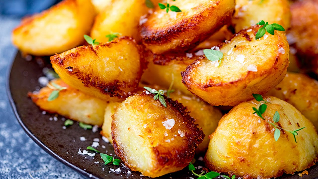 The Best Crispy Roast Potatoes Youtube
