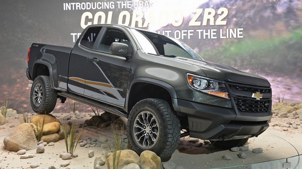 2017 Chevrolet Colorado Zr2 Sel Specs