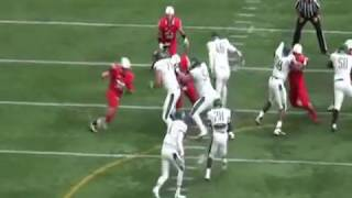 NFL Prospect (Terrence Fede Marist College Highlights)