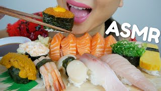 Nigiri SUSHI ASMR *No Talking Relaxing Eating Sounds | N.E ASMR