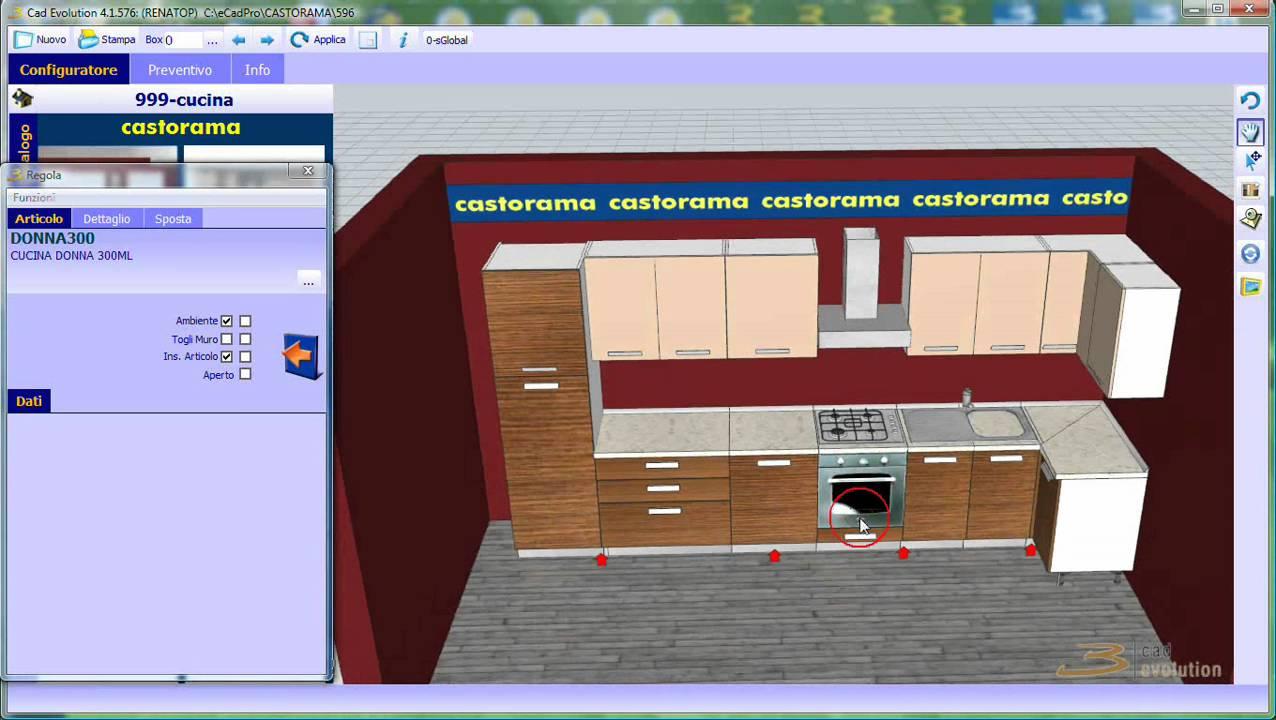 Software Cucina Finest Ikea Planner Cucina With Software Cucina  -> 3Cad Evolution Tutorial