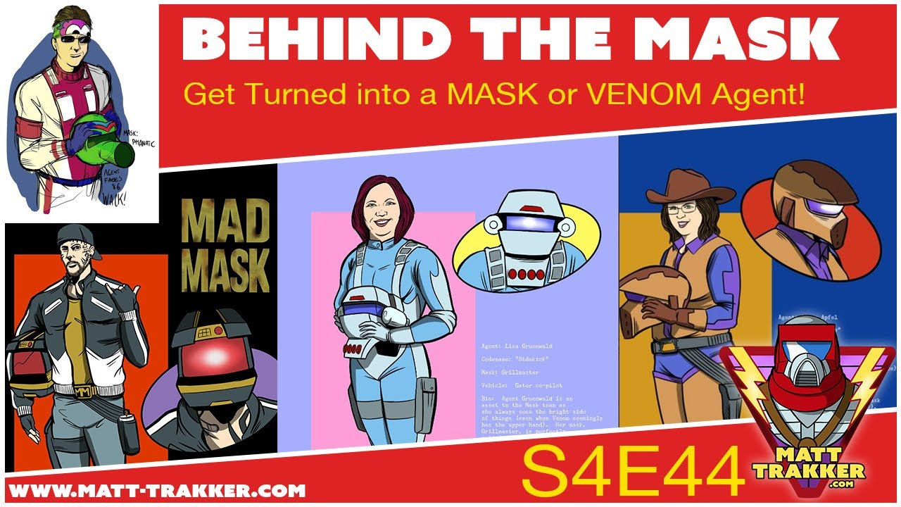 Get Turned into a MASK or VENOM Agent! - S4E44