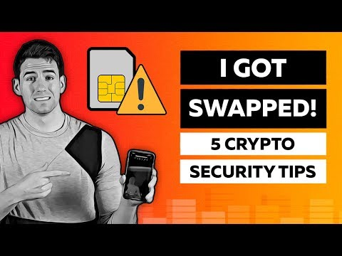 What Is SIM Swap Fraud? — 5 Important Crypto Security Tips!! 🚨⚠️