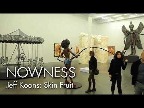 "Jeff Koons In ""Skin Fruit"" By Alison Chernick"