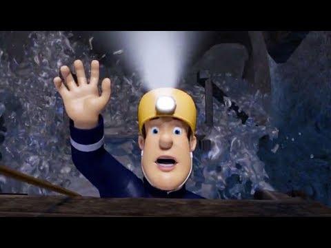 Fireman Sam US New Episodes | Fireman Sam is in danger! - Sam gets saved 🚒 🔥 Cartoons for Children
