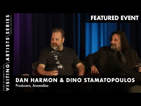 Anomalisa with Dan Harmon and Dino Stamatopoulos