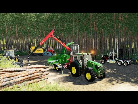 FS19 - Forestry and Farming on Ravenport 148