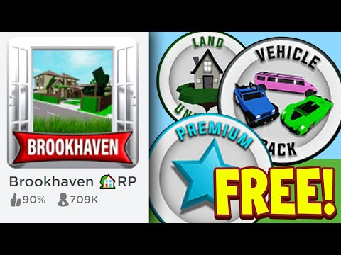 How To Get A FREE Game Pass In Brookhaven RP Roblox! Free Brookhaven Premium Pass 2021 thumbnail