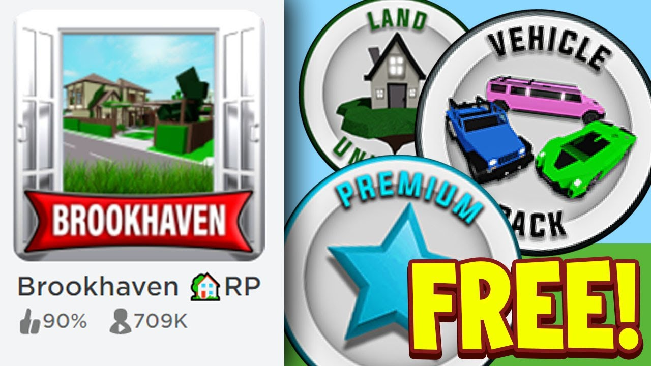 How To Get A FREE Game Pass In Brookhaven RP Roblox Free