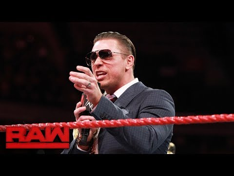 The Miz demands respect from Raw General Manager Kurt Angle: Raw, Aug. 28, 2017