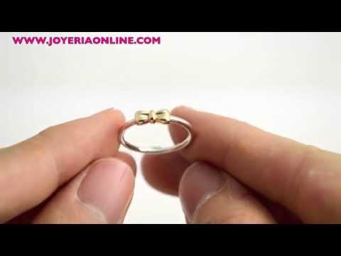 anillo lazo pandora