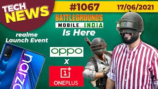 Download BGMI Is Finally Here, realme X9 Teased,OPPO x OnePlus,realme Launch Event 24th,vivo V21e 5G-#TTN1067