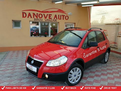 Fiat Sedici,GARANTIE 3 LUNI,BUY BACK,RATE FIXE,4x4,benzina,Pret: 3699 Euro