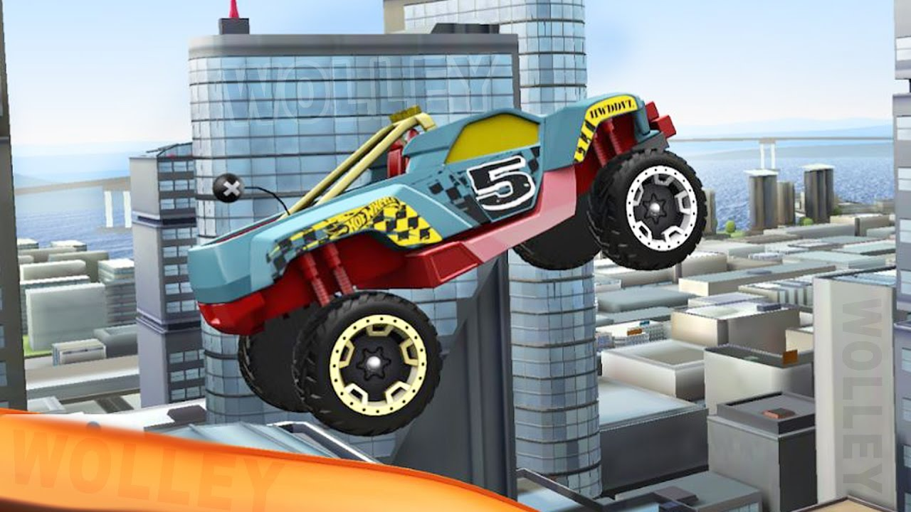 Hot Wheels Race Off Cars Racing Videos Stunt Race Track Game