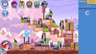 Angry Birds Friends- Santacoal e Candyclaus-Parte 3! ( Especial de natal ) Nível 2!