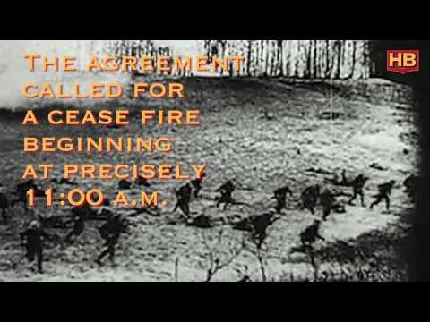 November 11th, 1918: World War I Ends