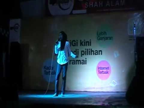 Peserta 2 @ Uptown Shah Alam Karaoke Talent   Intan Normayasari