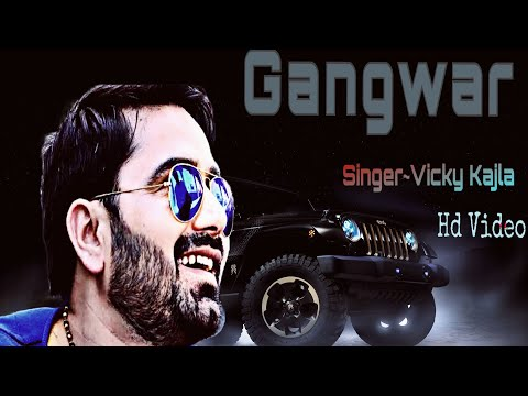 Gangwars (Lyrical Video) | Vicky Kajla | Sumit Goswami | Latest Haryanvi Song 2018