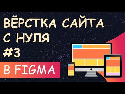 Верстка сайта с нуля из Figma для начинающих #3