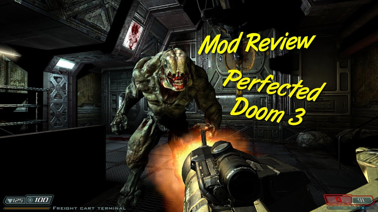MOD REVIEW) Perfected Doom 3 -...