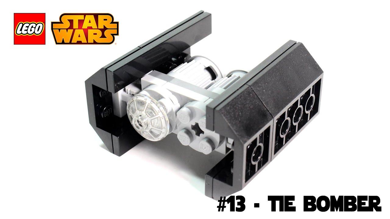 lego star wars magazine building timelapse 13 tie bomber
