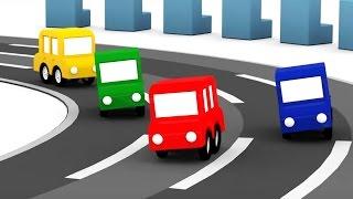 Мультик про машинки: #4МАШИНКИ и гонки с препятствиями. #ВидеоДляДетей. Мультики для мальчиков