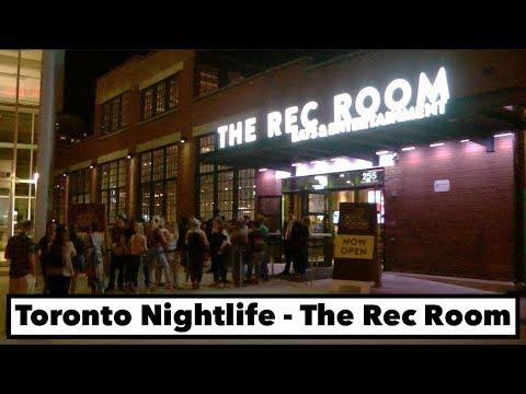 Toronto Nightlife - The Rec Room