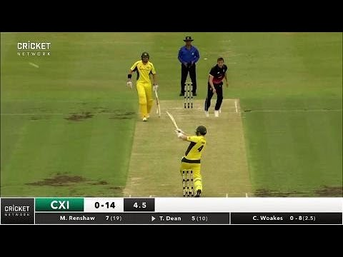 Cricket Australia XI v England, One-Day Tour Match