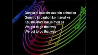 Golmaal 3 Ale w/ Lyrics