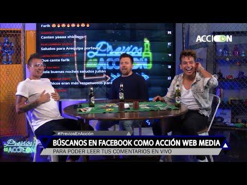 Farik Grippa Y Ricky Santos Cantan EN VIVO - Los Cuatro Finalistas