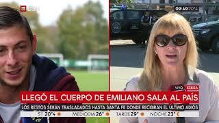 Llegó el cuerpo de Emiliano Sala al país