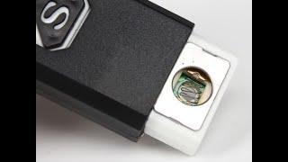 Посылка№142-Подробный обзор зажигалки USB