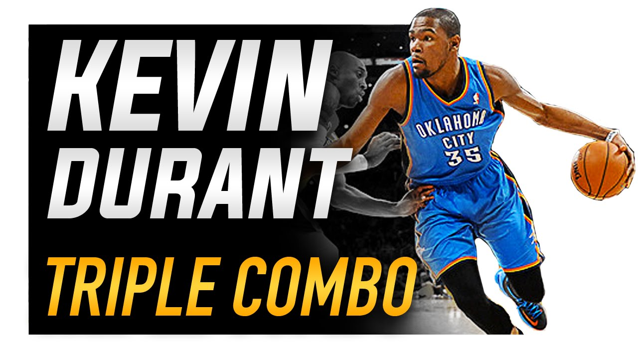f86c1ada1de Kevin Durant Triple Combo Crossover  NBA Basketball Moves - YouTube