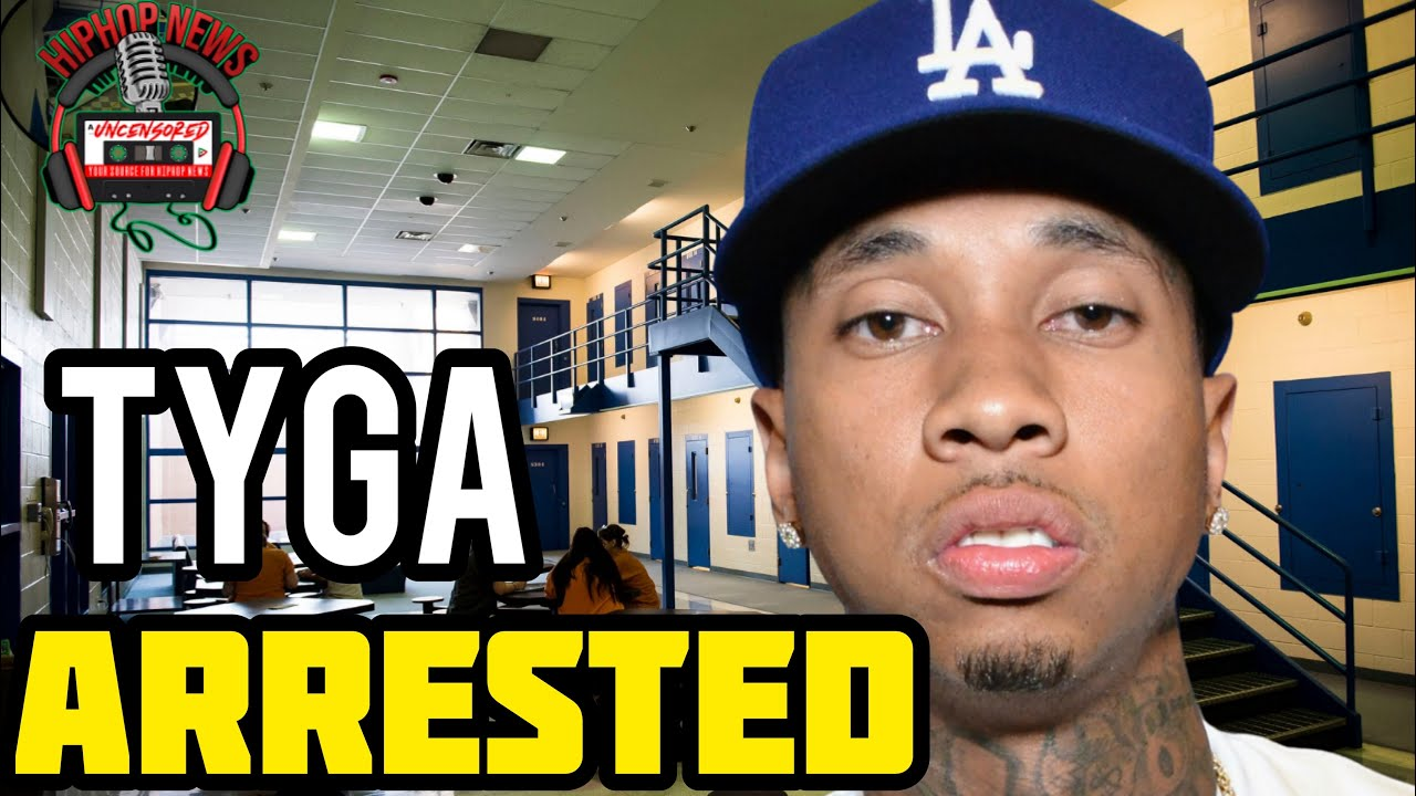 Tyga surrenders to police after allegation of domestic assault ...