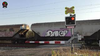 eleznin pejezd Stratov #2 - 16.10.2018 Czech railroad crossing