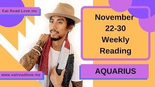 aquarius december reading