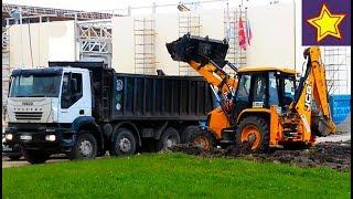Транспорт строительный для детей Виды техники в работе Construction Vehicle