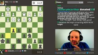 GM Ben Finegold Streams on Monday Morning