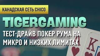 Обзор покеррума Tiger Gaming|  Бесплатное обучение | Школа покера Smart-poker.ru