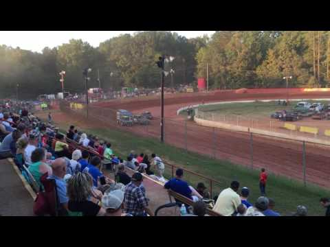"Carl ""MailMan"" Maree #2 Renegade Car-Sept 24, 2016-East Lincoln Speedway-Heat Race WIN!"