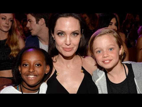 Angelina Jolie Says Her Six Kids Are Learning All Different Languages