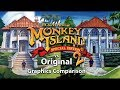 Monkey Island 2 Special Edition vs Original- Graphics Comparison